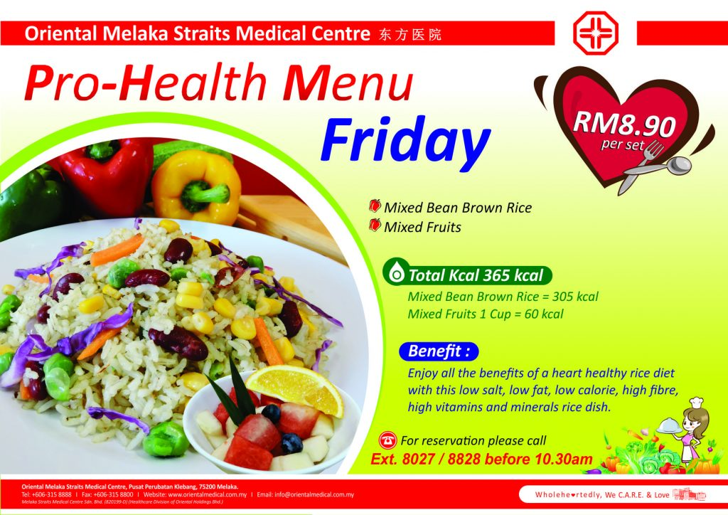 Prohealth Menu 5