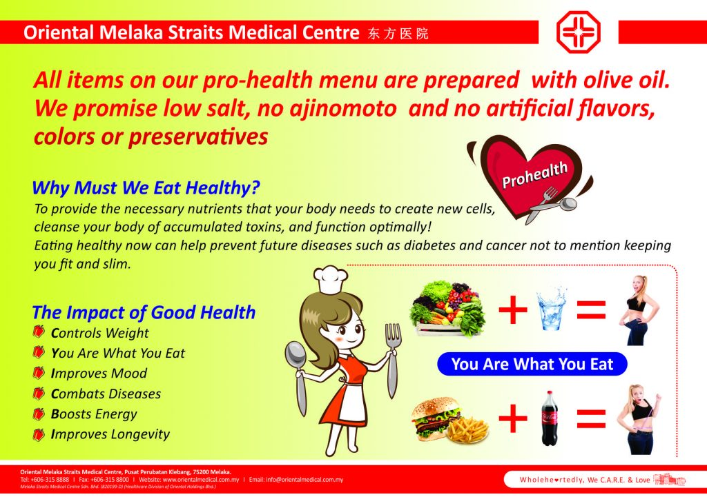 Prohealth Menu 6